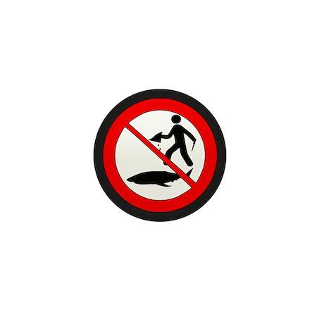 Stop Shark Finning Mini Button