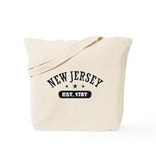 New Jersey Est. 1787 Tote Bag
