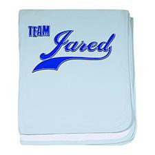 Team Jared baby blanket