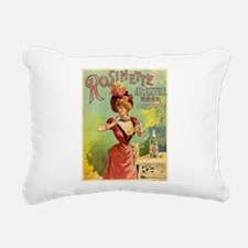 Absinthe Rosinette Rectangular Canvas Pillow