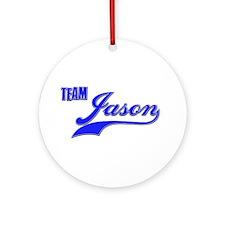 Team Jason Ornament (Round)
