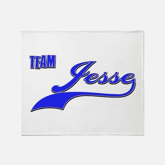 Team Jesse Throw Blanket