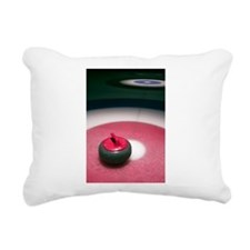 Curling Stone Rectangular Canvas Pillow
