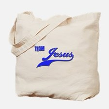 Team Jesus Tote Bag