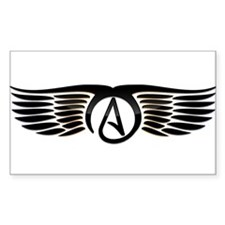 Atheist Wings Decal