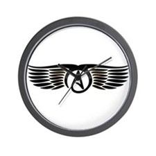 Atheist Wings Wall Clock