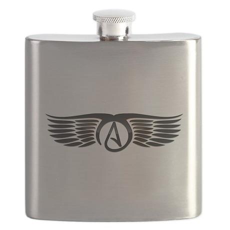 Atheist Wings Flask