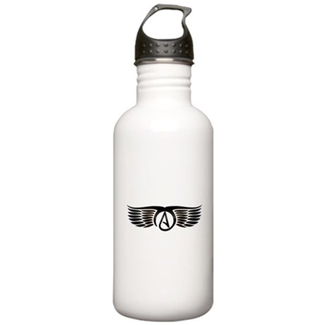 Atheist Wings Stainless Water Bottle 1.0L