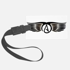Atheist Wings Luggage Tag