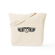 Atheist Wings Tote Bag