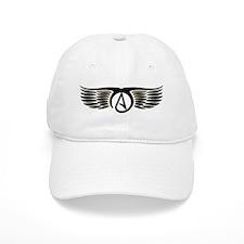 Atheist Wings Baseball Cap