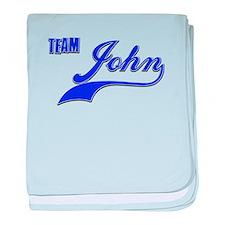 Team John baby blanket