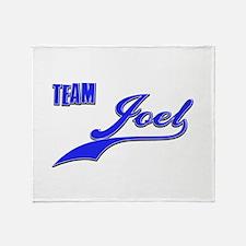 Team Joel Throw Blanket