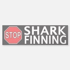 Stop Shark Finning Bumper Bumper Sticker