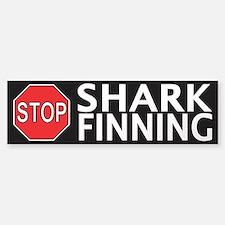 Stop Shark Finning Sticker (Bumper)