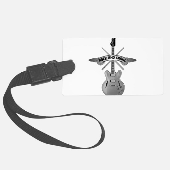 ROCK AND GROHL Luggage Tag