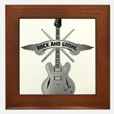 ROCK AND GROHL Framed Tile