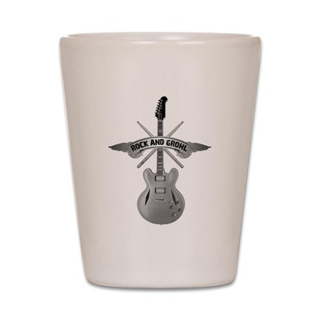 ROCK AND GROHL Shot Glass