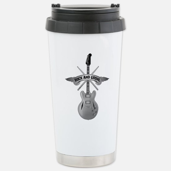 ROCK AND GROHL Stainless Steel Travel Mug
