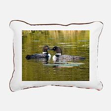 Unique Green lake wisconsin Rectangular Canvas Pillow