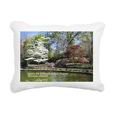 Jasmine Hill Gardens Rectangular Canvas Pillow