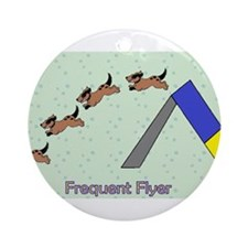 Frequent Flyer Ornament (Round)