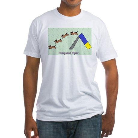 Frequent Flyer Fitted T-Shirt