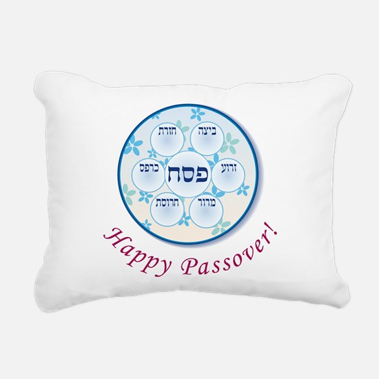 Passover Dish Rectangular Canvas Pillow