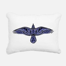 Celtic Raven Rectangular Canvas Pillow