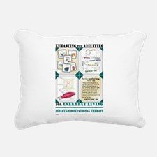 Occupational Therapy Rectangular Canvas Pillow