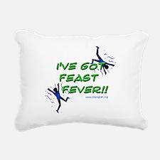 Feast Fever Rectangular Canvas Pillow