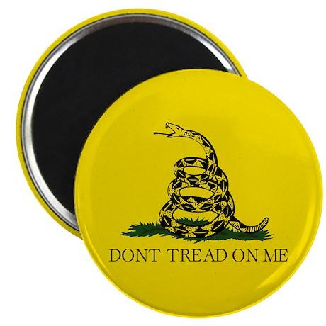 """Gadsden Flag 2.25"""" Magnet (100 pack)"""