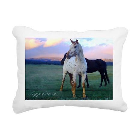 Appaloosa Rectangular Canvas Pillow