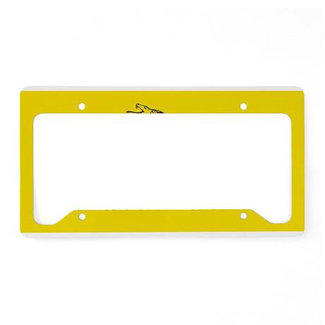 Gadsden Flag License Plate Holder