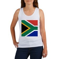 South Africa Flag Women's Tank Top