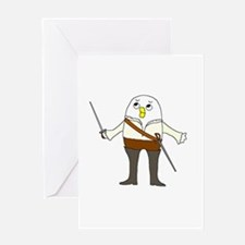 Opera Singer Greeting Card