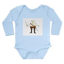 Opera Singer Long Sleeve Infant Bodysuit