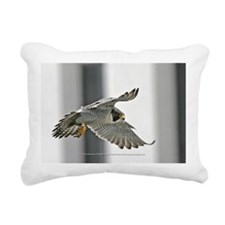 """George in Flight"" Rectangular Canvas Pillow"