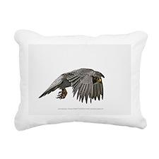 """George in Flight 2"" Rectangular Canvas Pillow"