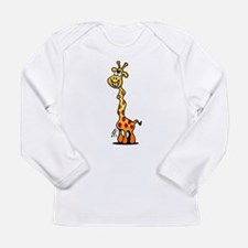 Giggling Giraffe Long Sleeve Infant T-Shirt