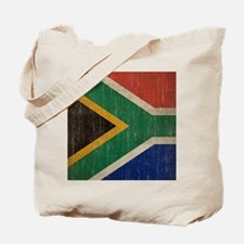 Vintage South Africa Flag Tote Bag