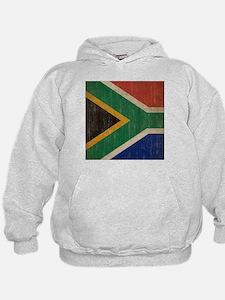 Vintage South Africa Flag Hoodie