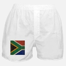 Vintage South Africa Flag Boxer Shorts