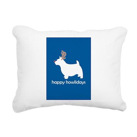 "Norwich Terrier ""Happy Howlid Rectangular Canvas P"