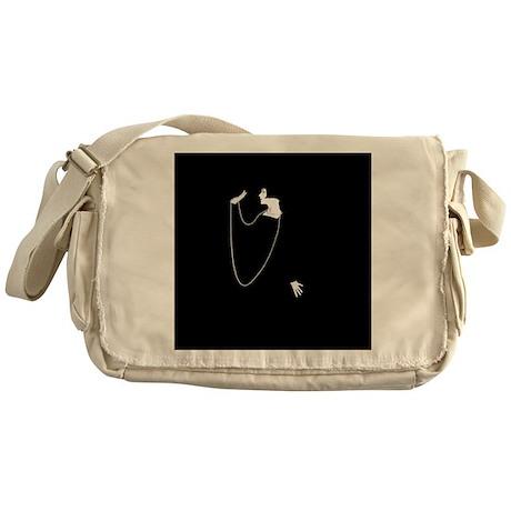 1920s Glamour Louise Brooks Messenger Bag