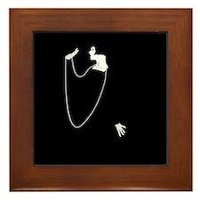 1920s Glamour Louise Brooks Framed Tile