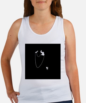 1920s Glamour Louise Brooks Women's Tank Top