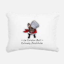 Le Cordon Bull Rectangular Canvas Pillow