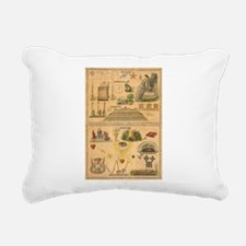 Cute 2be1ask1 Rectangular Canvas Pillow