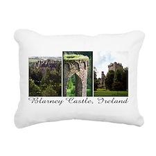Blarney Castle, 3 vert. photos Rectangular Canvas